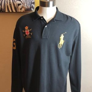 Polo By Ralph Lauren long sleeve Rugby shirt